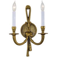 Minka Metropolitan  2 Light Wall Sconce