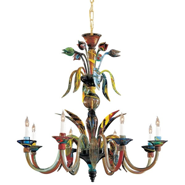 Minka Metropolitan Camer 8 Light Chandelier