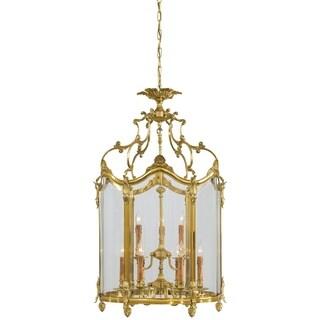 Minka Metropolitan 9 Light Foyer Pendant - Gold