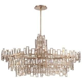 Metropolitan chandeliers for less overstock minka metropolitan bel mondo 21 light island light aloadofball Gallery