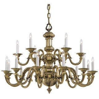 Minka Metropolitan 18 Light Chandelier - Gold