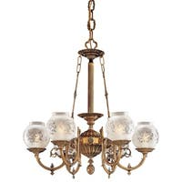 Minka Metropolitan  6 Light Chandelier