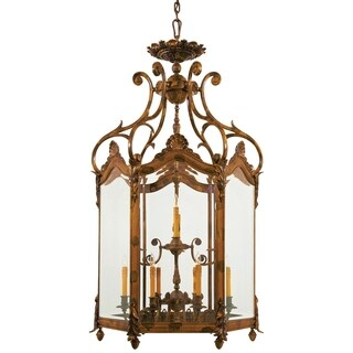 Minka Metropolitan 12 Light Foyer Pendant - Gold