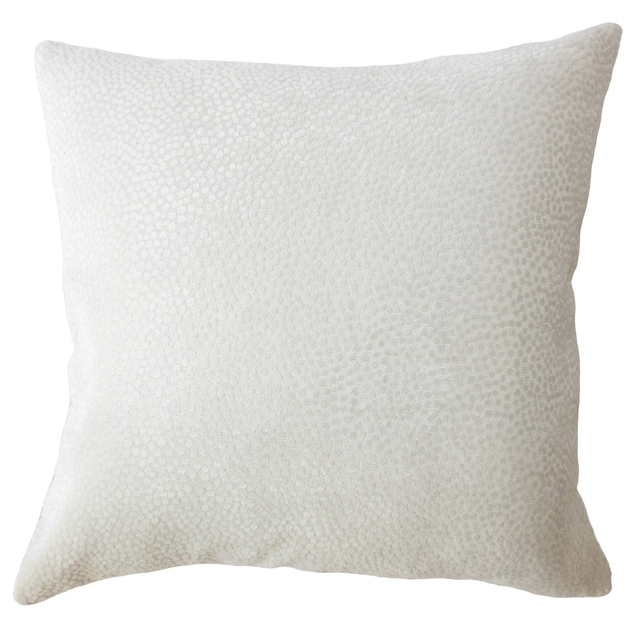 Haines Solid Down Filled Throw Pillow in Mushroom (Square - 22 x 22)
