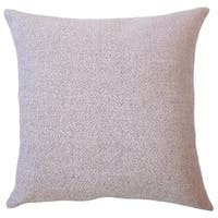 Winslow Solid Down Filled Throw Pillow in Lavender