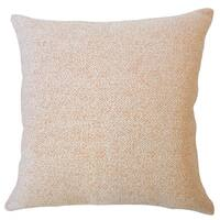 Winslow Solid Down Filled Throw Pillow in Orange