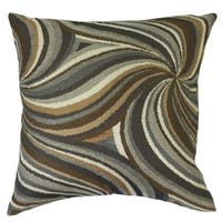 Xarissa Graphic Down Filled Throw Pillow in Amber