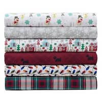 Microfiber Holiday Print Sheet Sets