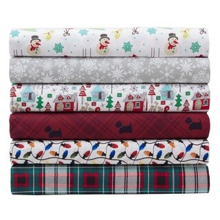 Microfiber Holiday Print Sheet Sets (5 options available)