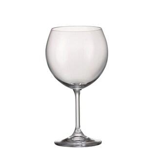 Red Vanilla Klara Burgundy Wine Glass (Set of 6)