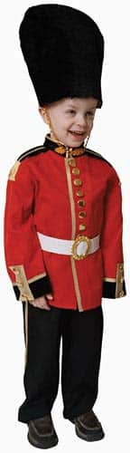 Deluxe Royal British Guard Dress Up Set (Size 2-18)