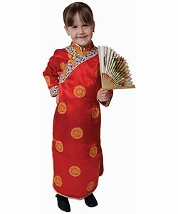 Geisha Girl Dress Up Set (Size 2-18)
