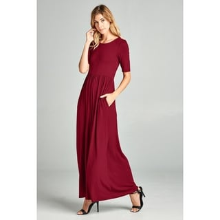 Spicy Mix Womens Ellen Panel Maxi Dress w/Pockets