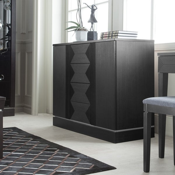 Voelkel Classic Collection Dark Oak Finish 2-Door Sideboard