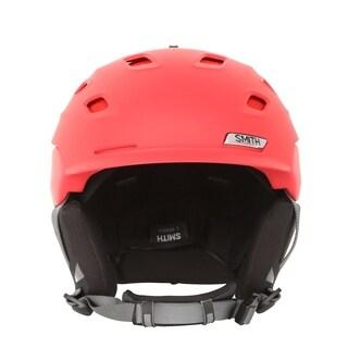 Smith Optics Vantage Matte Fire Split Ski/Snowboard Helmet - Red
