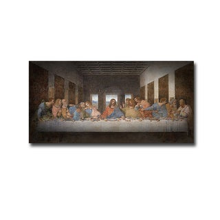 The Last Supper by Leonardo da Vinci Gallery-Wrapped Canvas Giclee Art