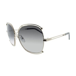 Chloe Fashion CE 129S 744 Women Gold Frame Grey Lens Sunglasses