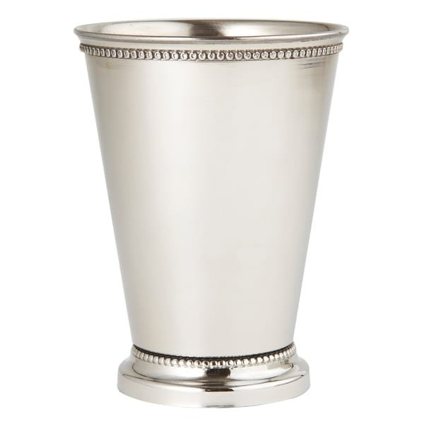 Heim Concept Stainless Steel Beaded Mint Julep Cup 45 Free