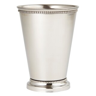 Heim Concept Stainless Steel Beaded Mint Julep Cup 4.5""