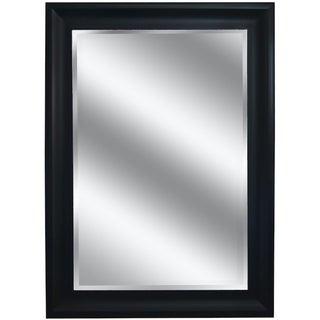 "31"" X 43"" Silver Woodgrain Mirror 1"" Bevel with 5"" frame"