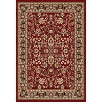 """Chelsea Traditional Oriental Red Area Rug - 5'2"""" x 7'2"""""""