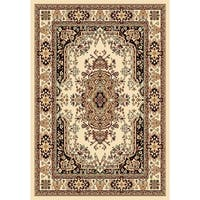 "Chelsea Collection Ivory Traditional Persian Area Rug - 5'2"" x 7'2"""