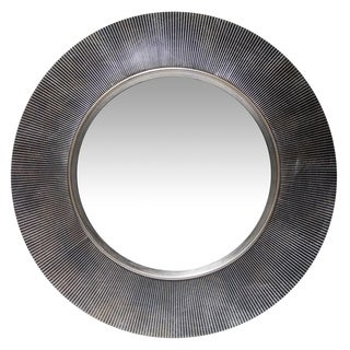 20 inch Antique Silver Wall Mirror Gladius by Infinity Instruments - Antique Silver