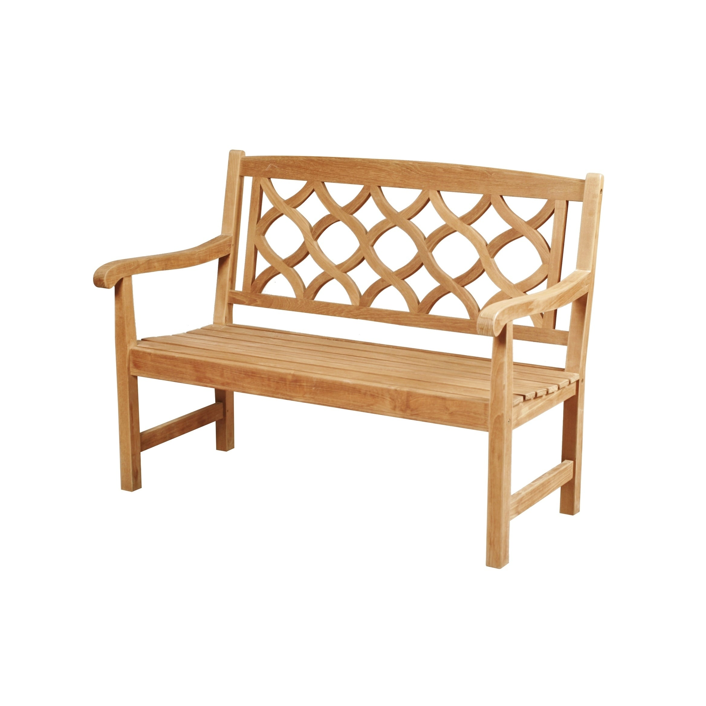 Shop Chichester 2 Seat Outdoor Teak Wood Bench Free Shipping Today