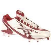Reebok NFL BURNER SPEED LOW M3 Mens Football Shoes White Red