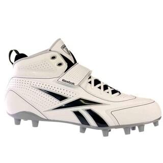 Reebok PRO THORPE III MP Mens Football Shoes White Black Silver