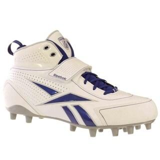 Reebok PRO THORPE III MP Mens Football Shoes White Royal Silver