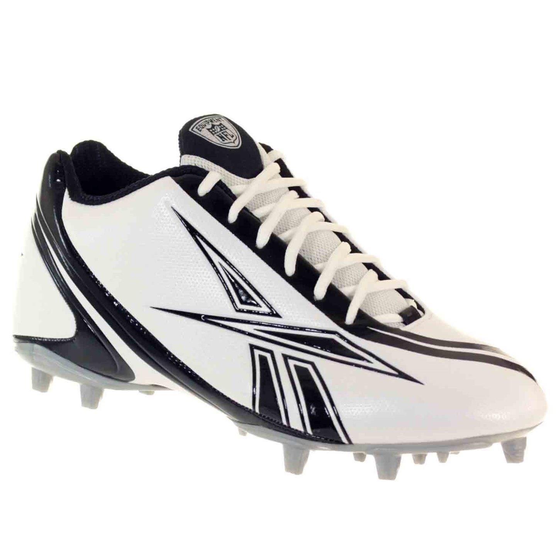 PRO BURNER SPEED 5/8 M3 Mens Football Shoes White Black 15 M