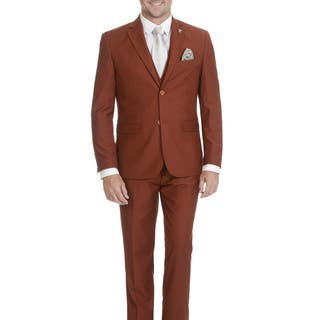 Stacy Adams Men's 3 Piece Suit|https://ak1.ostkcdn.com/images/products/18078048/P24238847.jpg?impolicy=medium