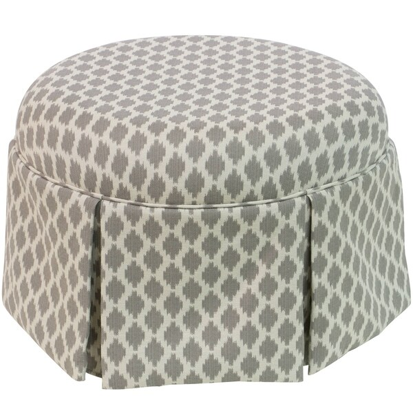 Skyline Furniture Ottoman In Bistro Smoke