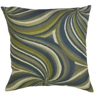 Xarissa Graphic Down Filled Throw Pillow in Calypso