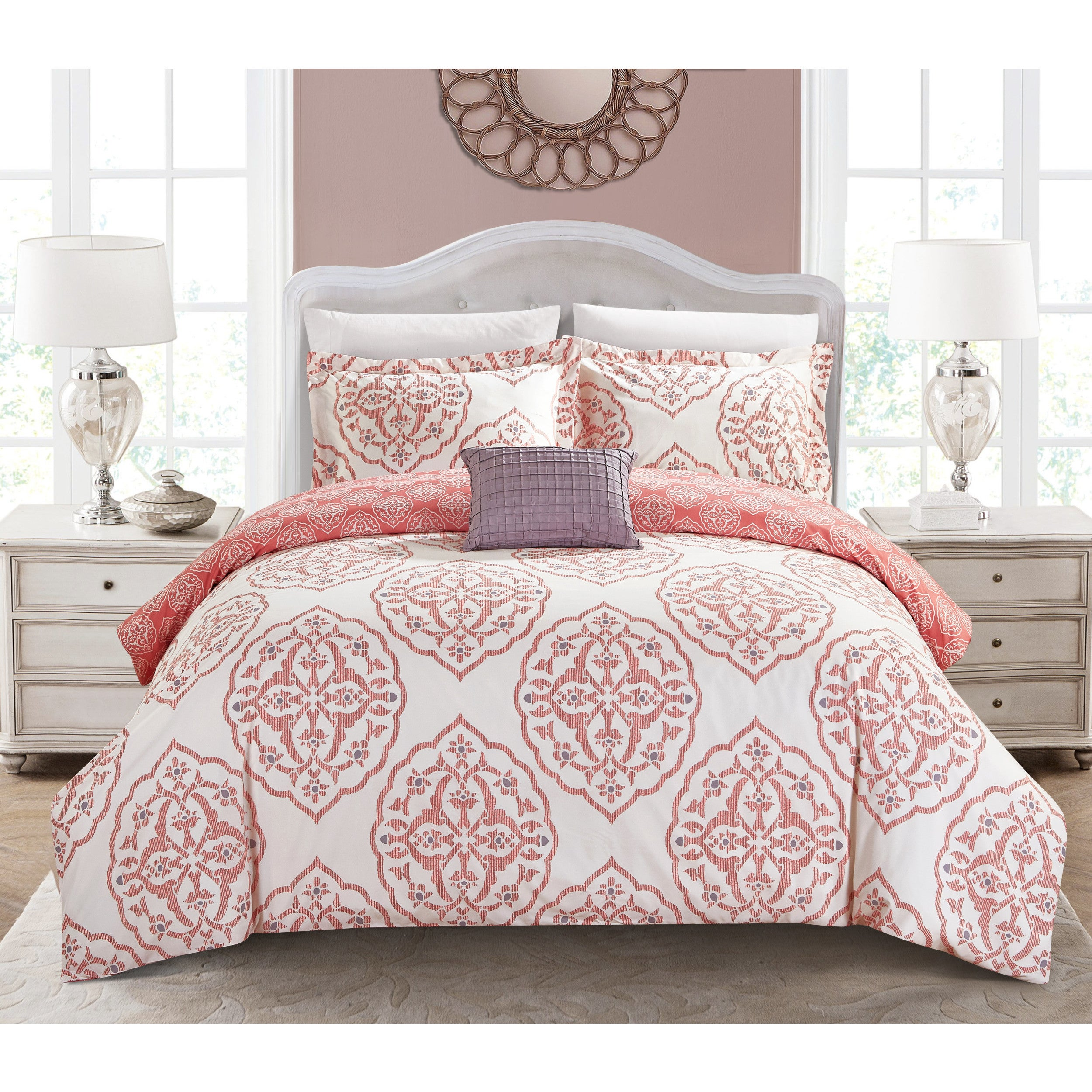 Pink, Victorian Bed-in-a-Bag | Find Great Bedding Deals Shopping at ...