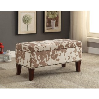 Lucielle Udder Madness Palomino Bench/Ottoman