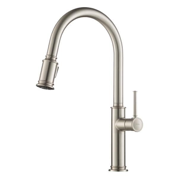 shop kraus kpf 1680 sellette 1 handle 2 function sprayhead pull down rh overstock com cheap kitchen faucets
