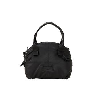 Liebeskind Berlin Seattle Easy Lambskin Satchel Handbag|https://ak1.ostkcdn.com/images/products/18079633/P24240230.jpg?impolicy=medium