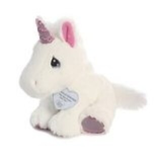 Precious Moments collection 8 inch white plush Unicorn