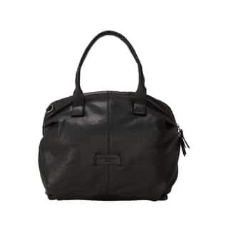Liebeskind Berlin Sacramento Easy Lambskin Satchel Handbag|https://ak1.ostkcdn.com/images/products/18079652/P24240233.jpg?impolicy=medium