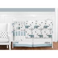 Sweet Jojo Designs Bear Mountain Collection 9-piece Crib Bedding Set