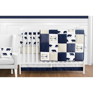 Sweet Jojo Designs Big Bear Collection 9-piece Crib Bedding Set