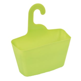Evideco Wall Shower Caddy Plastic Basket with Hanger (Option: Green - N/A)
