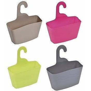 Evideco Wall Shower Caddy Plastic Basket with Hanger - Free Shipping ...