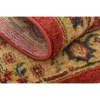 Unique Loom Arsaces Sahand Area Rug (Red - 22 x 3)