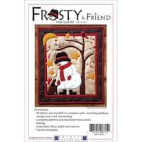 Frosty & Friend Wall Quilt Kit