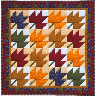 Leaves Wall Quilt Kit