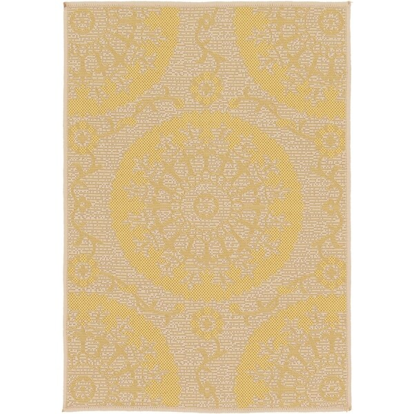Unique Loom Medallion Outdoor Area Rug - 2' 2 x 3'
