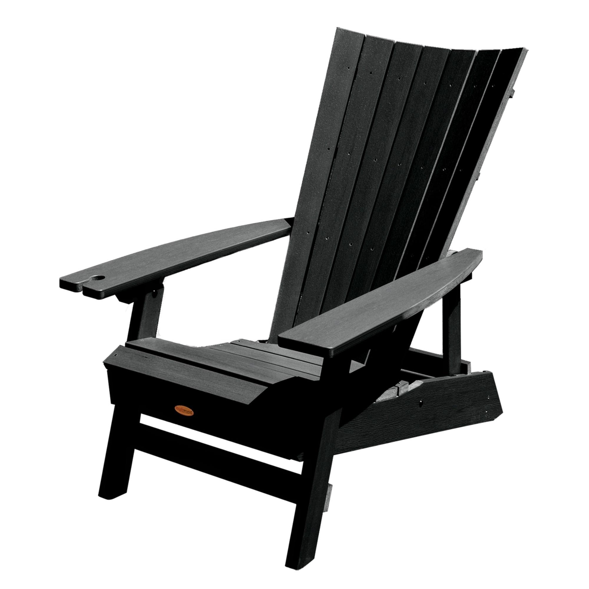 shop manhattan beach adirondack chair with wine glass holder free